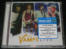 THE VAMPS - Live - RARE 3 Track WALMART EXCLUSIVE CD single! SEALED! OOP!