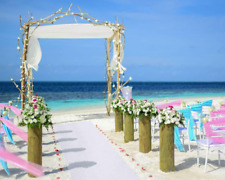 Wedding Aisle Runner White Marriage Event Ceremony Decoration Floor Carpet Roll
