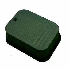 Valve Box Outdoor Garden Lawn Sprinkler Irrigation Water Watering Cover Lid Tool