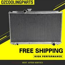3Row 56MM FULL Aluminum Radiator For MT TOYOTA MARK II JZX100 1JZ-GTE 1996-2001