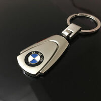Stainless Steel Keyring Car Logo Key Chain Fobs For BMW M Power