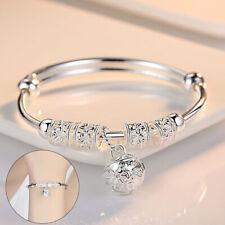 NEW Women's Genuine 925 Sterling Silver Bracelet Bangle Boho Charm Jewelry Gift