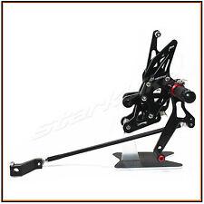 Foot Rest Rearset Rear Sets Foot Pegs Pedals YAMAHA FZ1 2006- 2013 FZ8 2010-2013