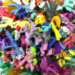 Random 10x My Little Pony Friendship is Magic G4 Unicorn Pony Figures Model Toy