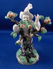 Nymphenburg Porcelain Asian Gentleman w/ Tree Figurine Figure Porzellan Figur