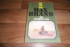 Max Brand -- der SCHWARZE JACK // Heyne Western Classics Taschenbuch 1975