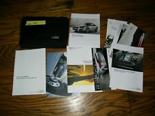 2014 Audi Tt Tts Coupe owners manual with case and navigation manual Aud748