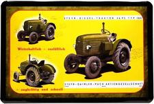 Blechschild 20x30 STEYR Daimler Puch Wien Typ 180 26 PS Traktor Bulldog Werbung