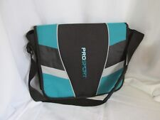 """PRO SPORT""   Messenger Crossbody Book Bag Laptop Friendly #19"
