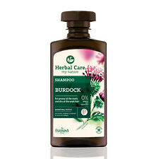 Herbal Care BURDOCK SHAMPOO for greasy at the roots and dry at the ends hair