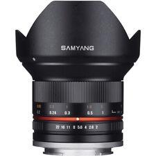 Second Stock Samyang 12mm F2.0 NCS CS Lens in Fuji Fit