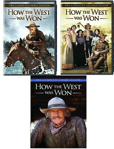How the West Was Won Complete TV Series Seasons 1 2 3 (1-3) NEW DVD Set Bundle