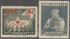 1957-295 SPAIN ANT. 1957 Ed.682-83. BOYS SCOUTS LORD BADEM POWELL MNH.