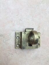 Antique Brass catch lock