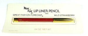 Vintage MARY KAY Lip Liner Pencil WILD STRAWBERRY #0982 SEALED