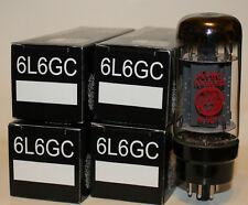 Matched Quad Electro Harmonix 6L6GC / 6L6EH / 6L6 tubes, Brand NEW