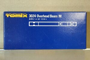 TOMIX 3024 OVERHEAD TRACK SUPPORT BEAM 150mm L Set of 10 NEW u