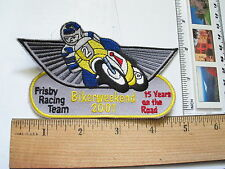Frisby Racing Team 15th Anniversary Bifer Weekend 2001 Motorcycle Patch (#1369)