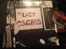 "LAZY COWGIRLS - JUNGLE SONG 7"" SINGLE AUSTRALIA PUNK GARAGE ROCK LTD EDITION"
