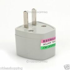 Portable Universal Travel Adapter Converter 250V 10A UK/EU/AU To Us Plug White