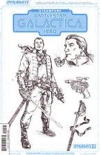 STEAMPUNK BATTLESTAR GALACTICA 1880 #2 VARIANT COVER 1:10