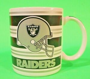 Officially Licensed NFL Oakland Raiders Team 1990's Coffee Cup Mug