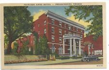 FREDERICKSBURG VIRGINIA Princess Anne Hotel