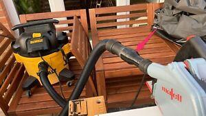 Dewalt DCS570 circular saw 35EX to 44.6ID Dewalt DXV15T hoover hose adapter