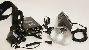 Quantum QFlash T4D - Turbo Battery - Quantum QF19 TTL Flash Adapter- Charger +++