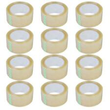 12 Rolls 27 Mil 180 Ft 60 Yards Heavy Duty Carton Sealing Packing Shipping Tape