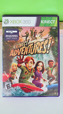 Microsoft XBOX 360 KINECT ADVENTURES Video Game Explore World and Beyond Clean