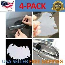 Invisible Clear Car Door Handle Paint Scratch Protector Guard Film Sheet 4pcs
