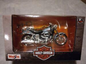 Maisto 1:18 scale Harley Davidson Motor Cycle ~NEW