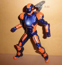 MARVEL LEGENDS mark 27 IRON MAN figure TOY blue orange MK-27 avengers target exc