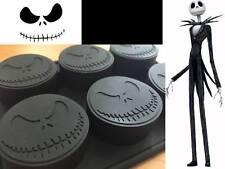 Nightmare Before Xmas Jack Skellington Silicone Cupcake Choc Soap Ice Mold Mould