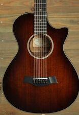 Acoustic Electric Guitars Guitars & Basses Taylor 562ce Grand Concert 12-string Acoustic Electric Guitar Medium Brown Stain Aesthetic Appearance