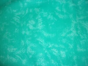 CLEARANCE 4 YARDS Quilter's Marbled Caribbean Blue Crafts Quilts Cotton Fabric