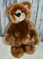 """Simply Irresistible Brown Bear 13"""" Standing Stuffed Animal Second Nature Plush"""