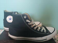 Mens Converse Chuck Taylor All Star High Top Canvas Fashion Sneaker Black 7.5