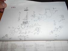 Gutbrod tracteur SUPERIOR 1026 : catalogue pièces