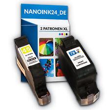 2x Tintenpatronen für HP 45 XL und 78 XL Deskjet 930 930C 815 820  bei Nano
