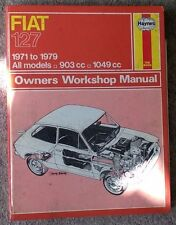 Fiat 127 - Haynes Workshop Manual - 1971 to 1979