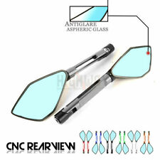 CNC Aluminum Pentagon Rearview Side Mirror For YAMAHA YZF R25 R3 T-MAX 500 530