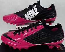 New Mens 16 NIKE Vapor Speed Low Black Pink Cleats Shoes $105 695512-016