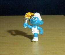 Smurfs Olympic Torchbearer Smurf Belgium Promo Figure Vintage Toy Figurine 20030