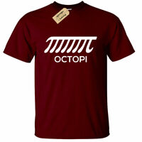 Mens Octopi Funny Math Science Teacher T-Shirt Tee Nerd College