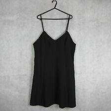 New! Stunning! Miss Selfridge Black Dress Size 16 - Casual Stylish Women Fashion