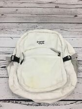 Trans By Jansport Rare Corduroy School White Double Retro Book Bag Backpack