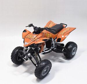 New Ray 1:12 Yamaha YFZ-450 Monster Jam SCOOBY-DOO ATV Motorcycle Model Toy