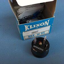 NEW IN BOX KLIXON MRK-40HX  MOTOR PROTECTOR, 35